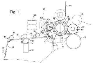 Rebobinadora y procedimiento para enrollar papel alrededor de un núcleo para realizar una bobina.