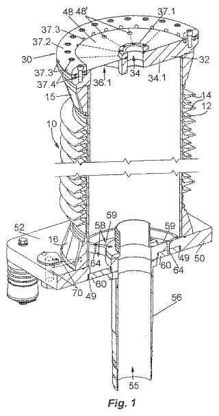 Cierre de extremo de cable para su uso al aire libre o en interior.