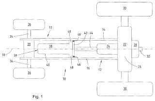 Dispositivo para fijar un motor a un bastidor en una vehículo utilitario agrícola o industrial.