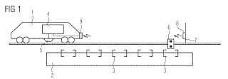 Procedimiento y dispositivo para aumentar la precisión de parada de un objeto desplazado.