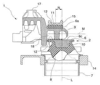 Estructura para el montaje de un motor.