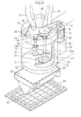 Método mejorado para la fabricación de un cuerpo de mortero de cemento y una instalación para su realización.