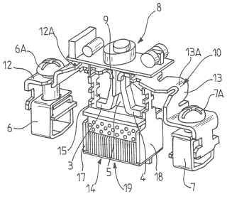 Dispositivo de protección contra sobretensiones con seguridad mejorada y procedimiento de fabricación correspondiente.