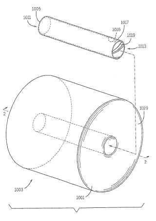 Dispensador con aparato de reconocimiento de material y procedimiento de reconocimiento de material.