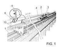 Sistema de videoanticipación y vigilancia para el transporte ferroviario.