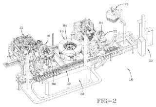 Estación y método de ensamblaje y desmontaje de núcleo de construcción de neumáticos.