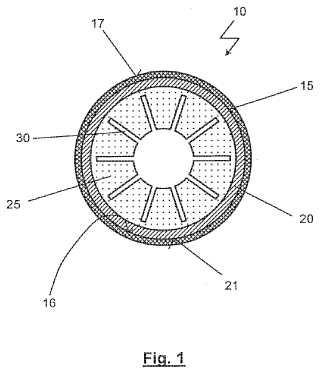 Recipiente a presión para el uso a altas temperaturas y un procedimiento para su fabricación.
