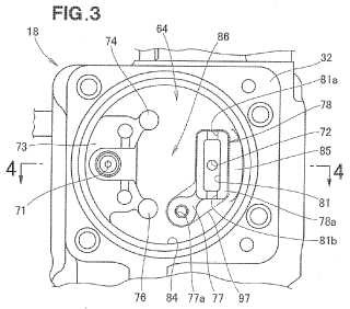 Regulador de motor de gas.