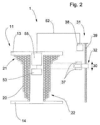 Procedimiento y dispositivo para el bobinado de materiales acordonados.