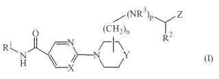 Derivados de piridina y pirimidina como inhibidores de histona desacetilasa.