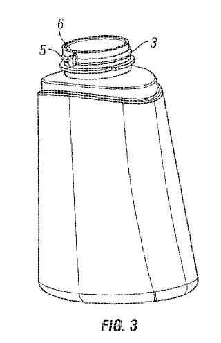 Una botella con una tapa segura.