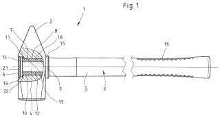 Martillo, en particular martillo de fragua, y procedimiento para la fabricación de un martillo de este tipo.