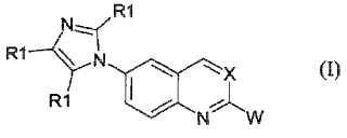 Derivados de 6-1H-imidazo-quinazolina y de quinolinas, nuevos inhibidores de MAO y ligandos del receptor de imidazolina.
