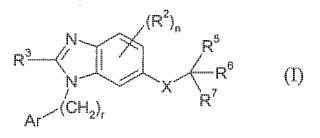 Agente antihipertensivos benzoimidazol de doble acción.