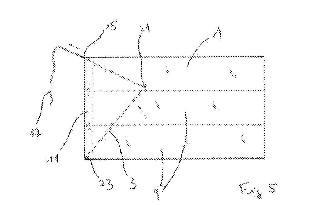 Contenedor prismático plegable y procedimiento de desplegado correspondiente.