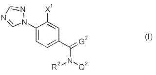 N-(4-perfluoroalquilfenil)-4-triazolilbenzamidas como insecticidas.