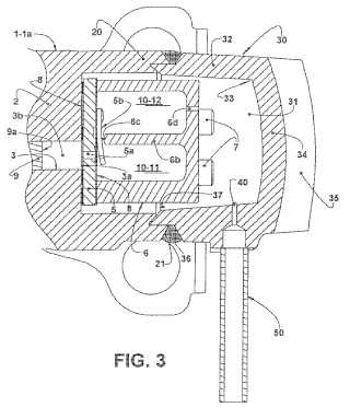 Compresor hermético de refrigeración.