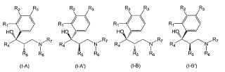 Separación de estereoisómeros de N,N-dialquilamino-2-alquil-3-hidroxi-3-fenil-alcanos.