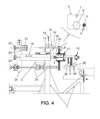 Máquina de perforación con múltiples cabezales simultáneos.