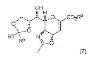 Procedimiento de fabricación de derivados de ácido neuramínico.