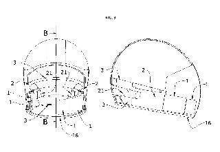 Sistema de protección mandibular para cascos de tipo abierto.