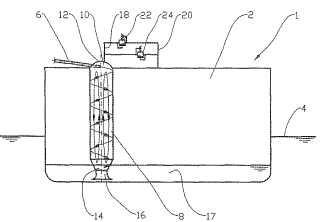 Método y disposición en una columna de carga.