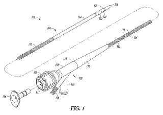 Catéter que incluye una guía compuesta y procedimientos para el uso y la fabricación de la misma.