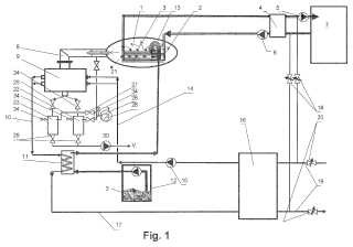 Sistema para una deshidratación de sustancias orgánicas a bajas temperaturas al vacío.