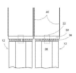 Disposición de separador ciclónico para una caldera de lecho fluidizado y construcción de montaje.