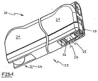 Dispositivo de fijación con base giratoria.