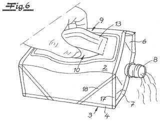 Bolsa de fondo plano formada de una lámina de plástico apta para sellado con calor y procedimiento para su fabricación.