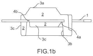 Procedimiento de fabricación de un dispositivo tridimensional de interconexión de múltiples capas.
