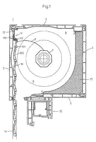 Caja de persiana enrollable 5 for Partes de una persiana