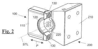 Dispositivo de cizallamiento para cizallar un material en barra y máquina de conformación con un dispositivo de cizallamiento para cizallar un material en barra.