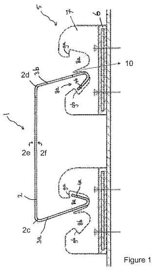 Un sistema modular para una estructura de fachada.