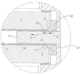 Método y aparato para sellar un sistema de fluido de presión ultraalta.