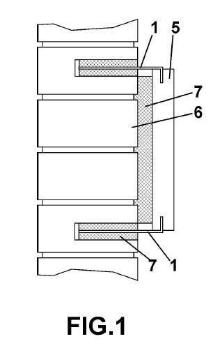 Mortero específico para aplicación de placas de revestimiento.