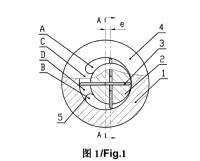 Un método y un dispositivo para plastificar y transportar material polimérico basado en reología de elongación.