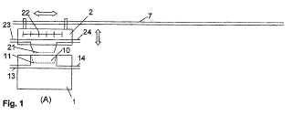 Dispositivo y método para moldear por compresión de una bandeja de fibra.