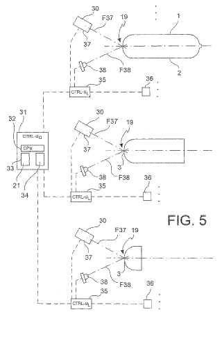 Método y sistema para generar información de rastreo para cilindros de gas.