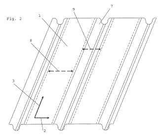 Disposición de capa de barrera para sistemas de depósito.