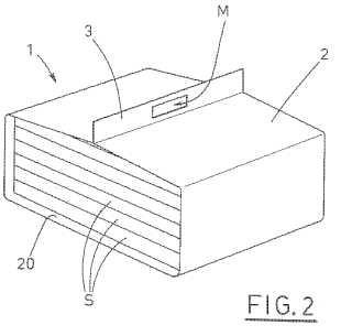 Dispositivo que tiene un asa para transportar recipientes.