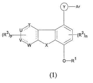 Novedosos compuestos heterocíclicos útiles para el tratamiento de trastornos inflamatorios y alérgicos.