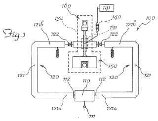 Oscilador de microondas controlado por tensión con una relación señal/ruido mejorada.