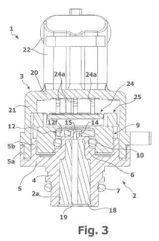 Dispositivo sensor de presión.