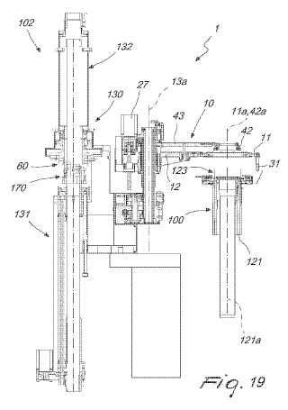 Procedimiento y aparato para cerrar un artículo tricotado tubular en uno de sus extremos axiales, al final de su ciclo de producción en una máquina de tricotar circular para género de punto o similares.