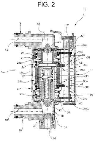 Dispositivo de transductor electrónico de presión.