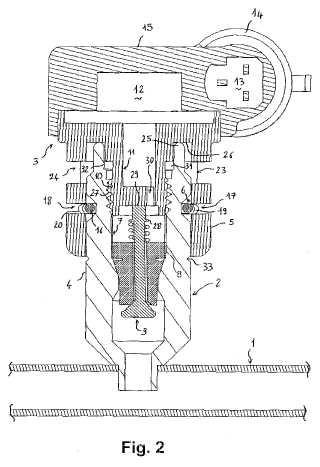 Caperuza de cierre para cuerpo de válvula de llenado de un circuito de climatización para vehículo automóvil.