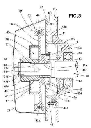 Sistema de retroceso tipo almacenamiento de energía para motores de combustión.