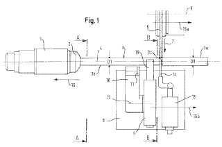 Procedimiento para rectificación cilíndrica de barras redondas largas y finas y máquina de rectificación cilíndrica para la realización del procedimiento con una luneta posterior de autocentrado.